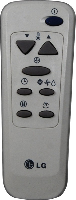 Indiashopers islg Compatible For Lg Ac Remote Controller(Light Gey)