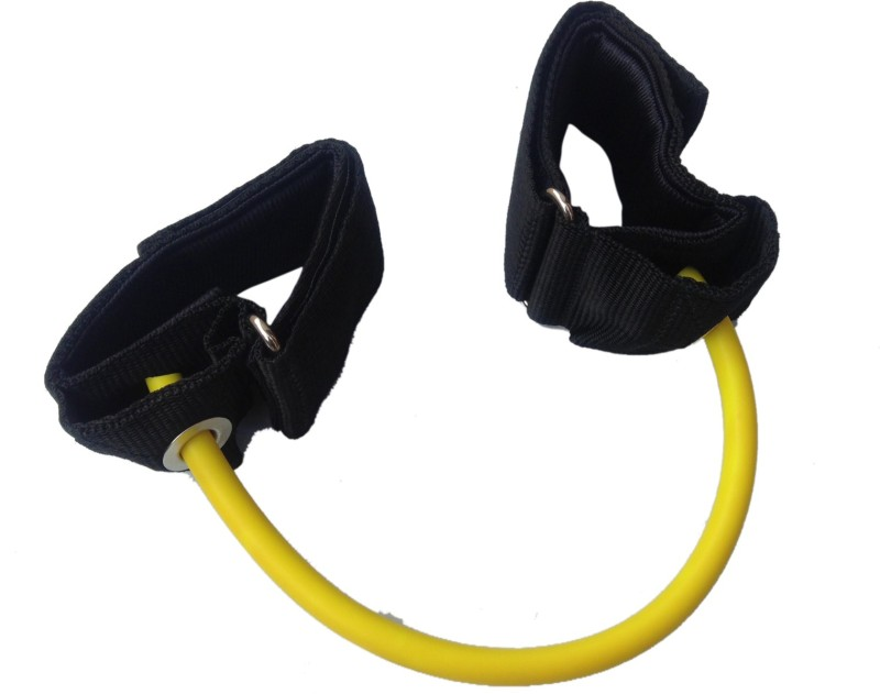 Sahni Sports Leg Toning Tube Light / Lateral Stepper Resistance Tube(Yellow, Black)