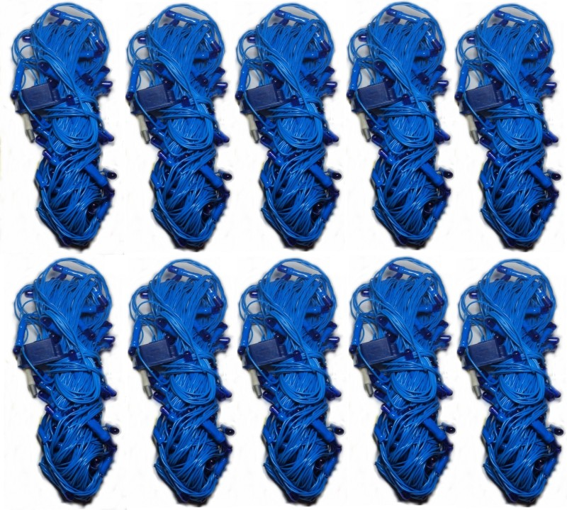 LES 312 inch Blue Rice Lights(Pack of 10)