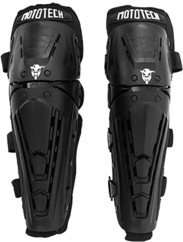 Mototech Knee Guard Free Black(Pack of 2)