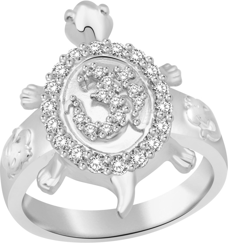 Classic OM Turtle for Men [CJ5047FRR21] Alloy Cubic Zirconia Gold-plated Plated Ring