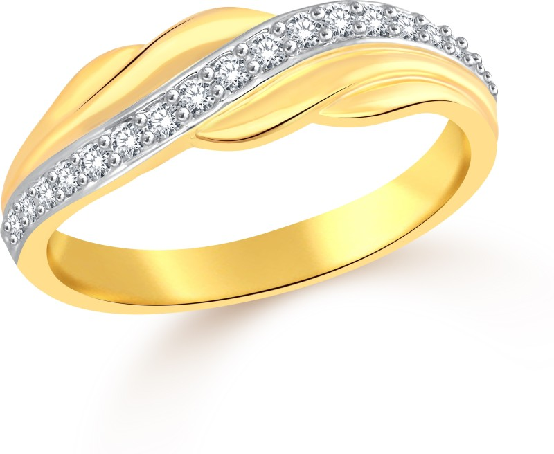 Classic Vintage (CZ) for Men [CJ5014FRG17] Alloy Cubic Zirconia Gold-plated Plated Ring