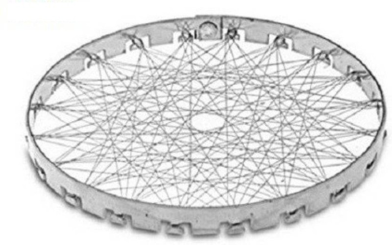 H D Enterprise gas jali 0.24 kg Roaster(Silver)