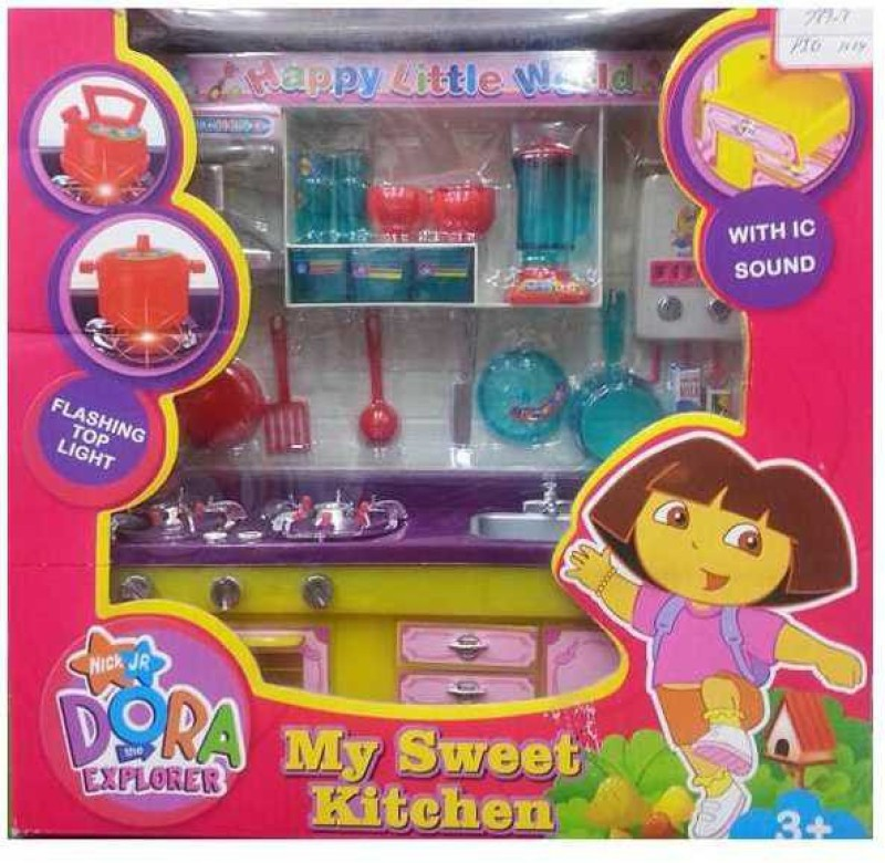 ReyHawk Kitchen Set Nick JR DORA The EXPLORER Sound