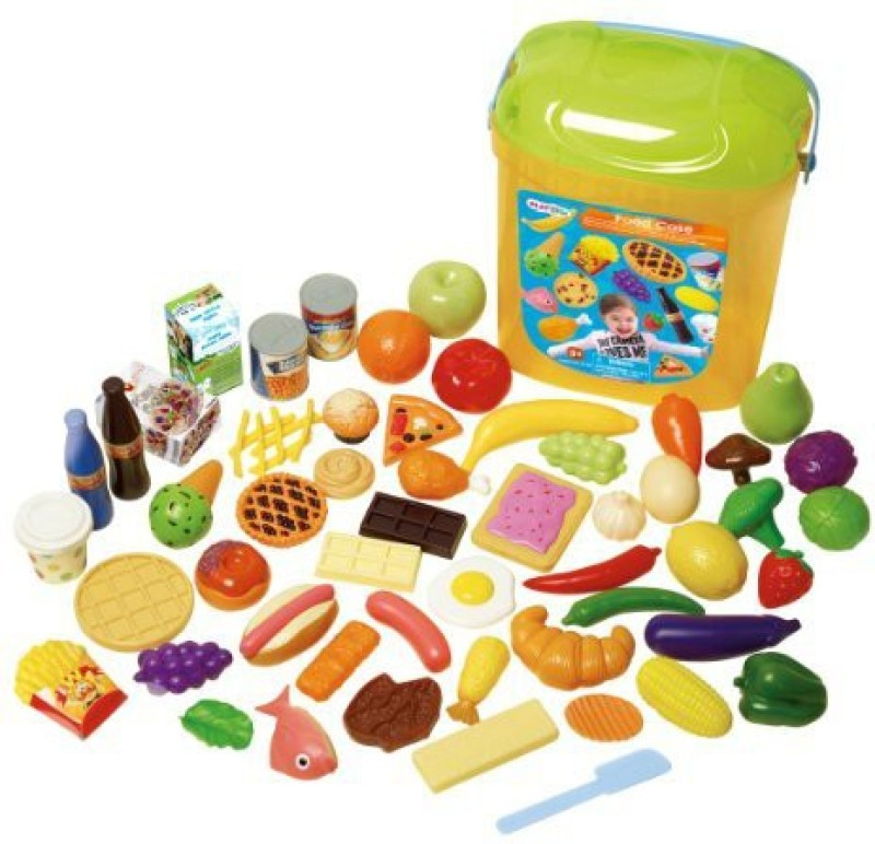 Playgo Food Case, 63-Piece
