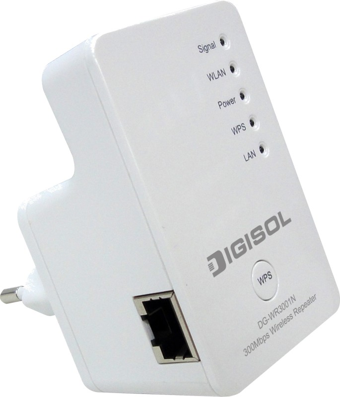 Digisol 300 Mbps Wireless Repeater(Single Band)