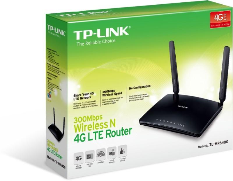 TP-Link MR6400 Router(Black) image