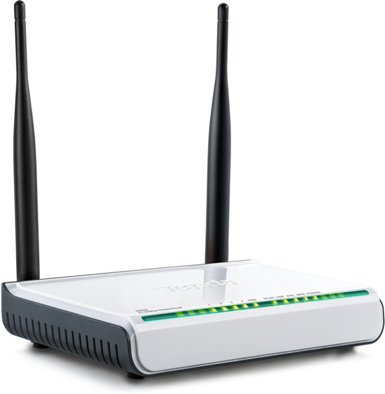 TENDA 3G622R+ 300 Mbps Router(White, Single Band)