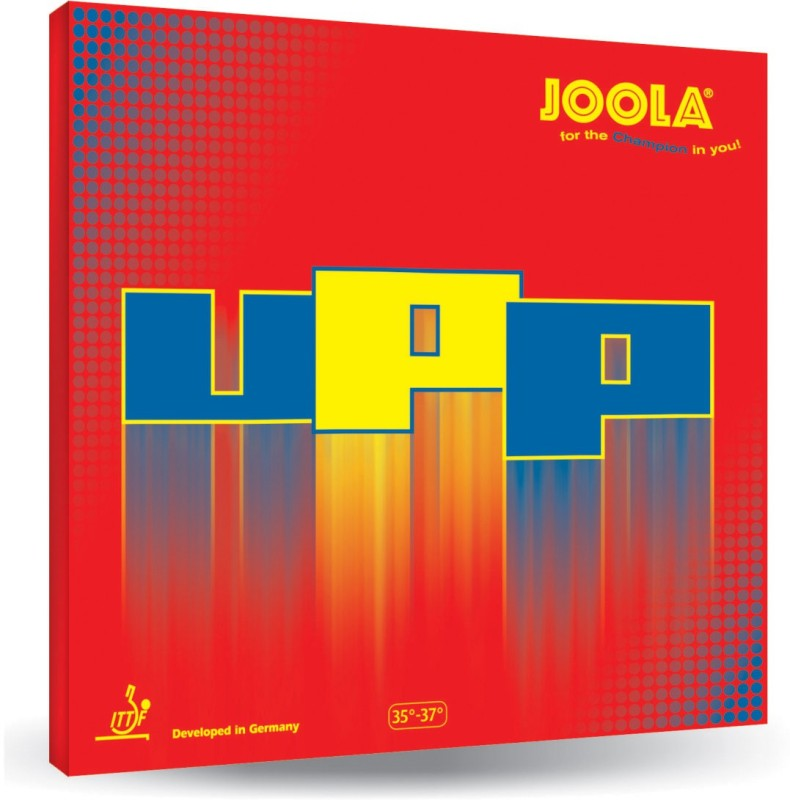 Joola UPP 1.3 mm Table Tennis Rubber(Red)