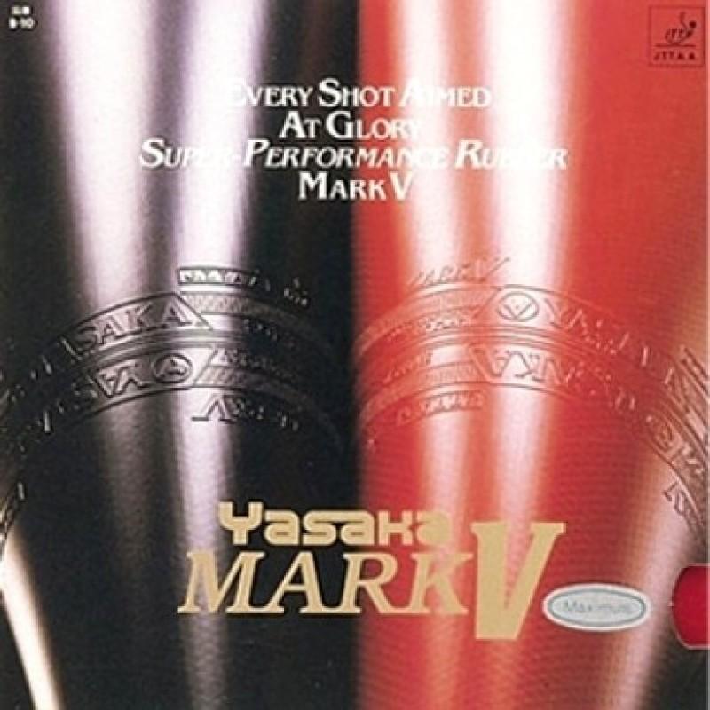 Yasaka Mark V Max Table Tennis Rubber(Red)
