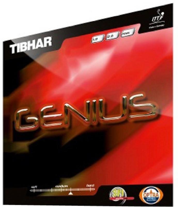 Tibhar genius 11.3 mm Table Tennis Rubber(Black)