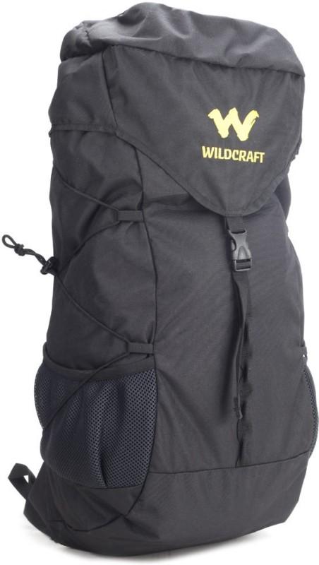 Wildcraft Quest Black Rucksack(Black)