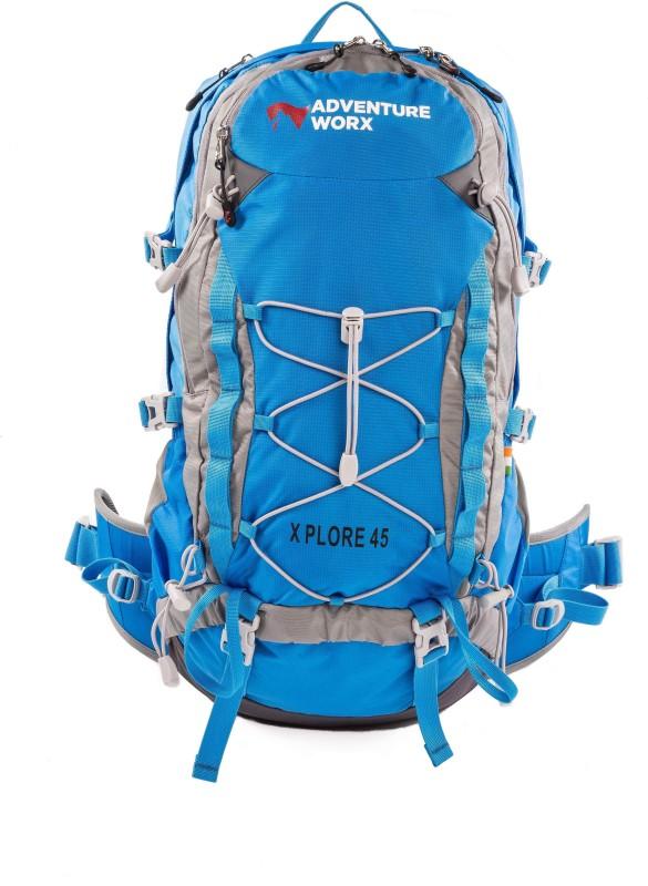Adventure Worx Xplore 45 Rucksack - 45 L(Blue)