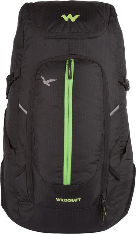 Wildcraft Hawk Rucksack - 35 L(Black)