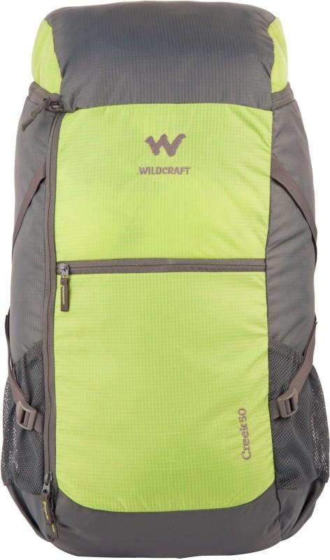 Wildcraft Creek Rucksack  - 45 L(Green)