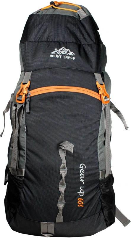 Mount Track Gear Up Hiking Rucksack - 60 L(Black)