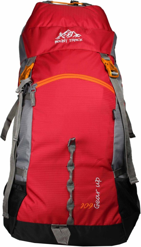 Mount Track Gear Up 9111RD 60 Ltrs(Red, Rucksack)