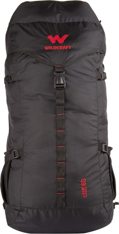 Wildcraft Cliff Rucksack  - 60 L(Black)