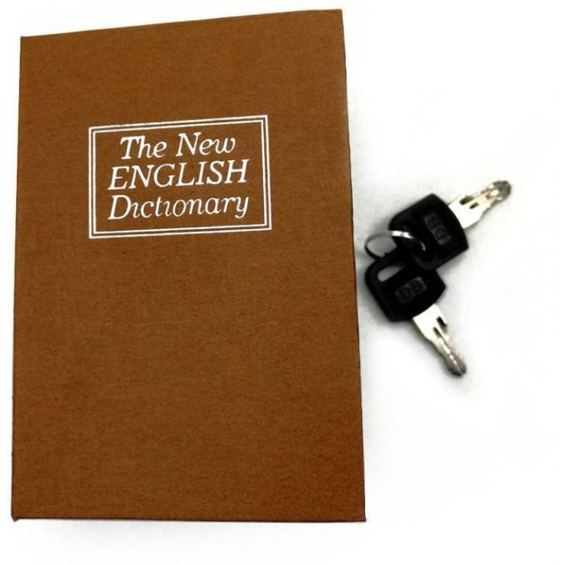 sukot Dictionary Book Safe Cash Box Jewelry Organizer Safe Locker (Key Lock) Safe Locker(Key Lock)
