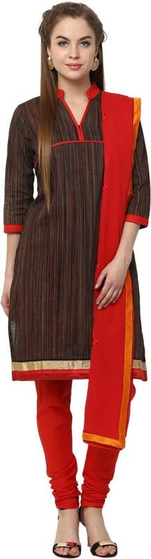 Yepme Striped Kurta & Churidar(Stitched)
