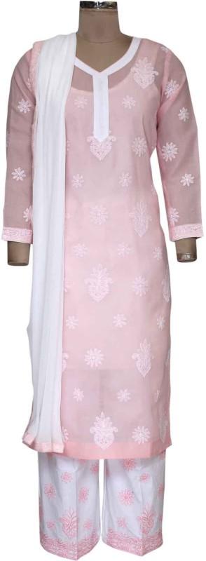 Ada Embroidered Kurta & Salwar(Stitched)