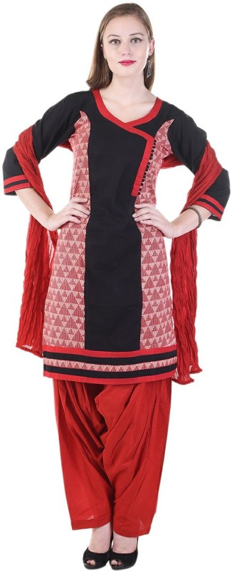 Aavaya Fashion Printed Kurti & Patiyala(Stitched)