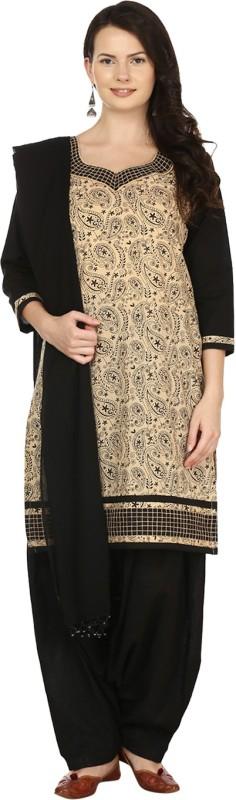 10 Star Printed Kurti & Patiyala(Stitched)