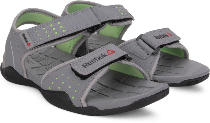 Reebok Women GREYLIMEMET SILBLK Sports Sandals