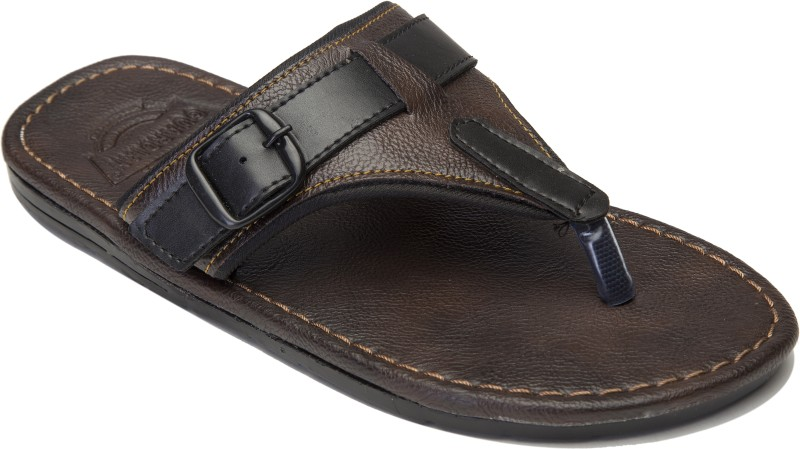 Guardian Shoes V-Shape style Men Brown Sandals