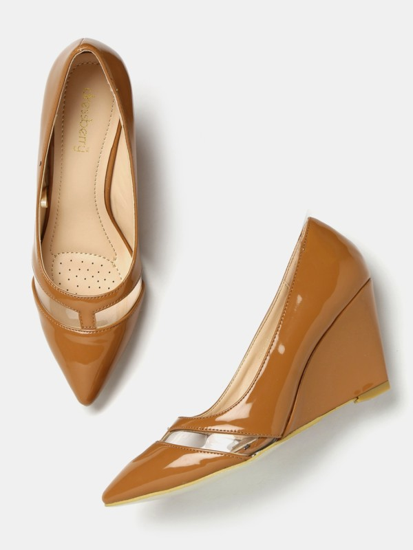 Dressberry Women Brown Heels