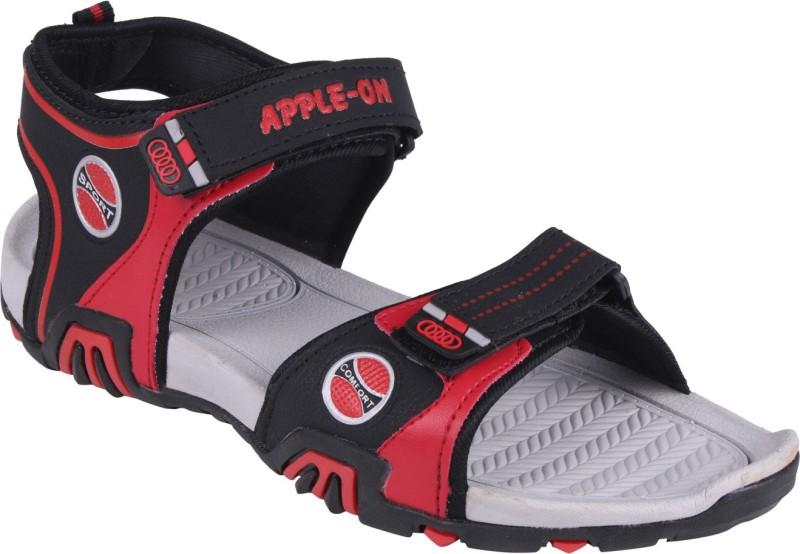 APPLE-ON Men BLACK Sandals