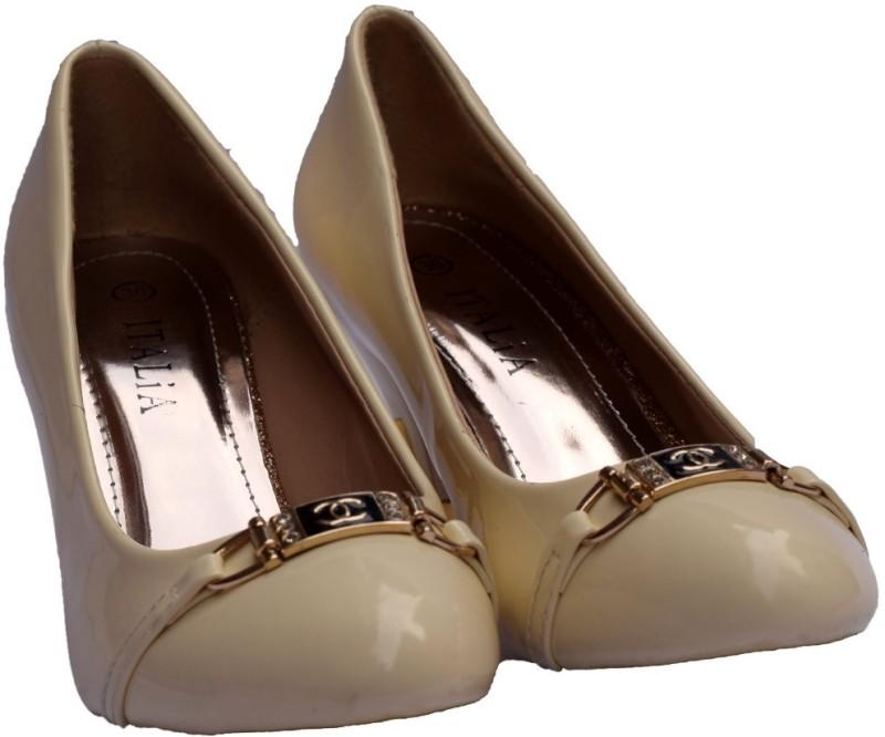 SuperStar Brand Women Beige Heels