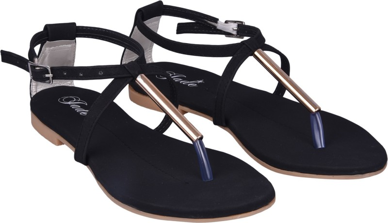 Jade Women Black Flats
