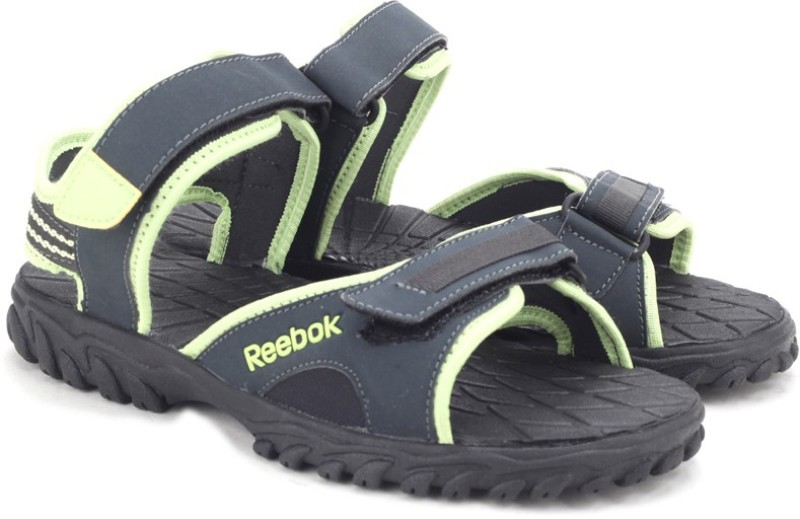 Reebok Women GRAVELLUMINOUS LIMEBLK Sports Sandals