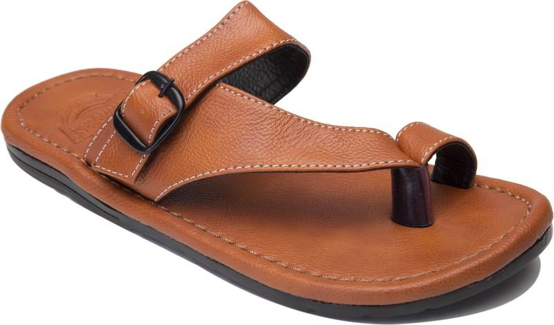 Guardian Shoes Side line style Men Brown Sandals