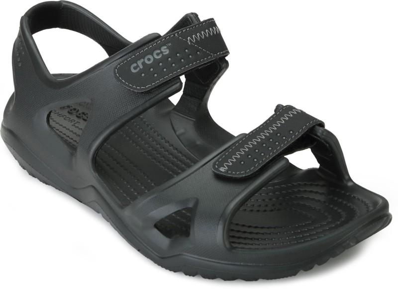 Crocs Men Black Sports Sandals