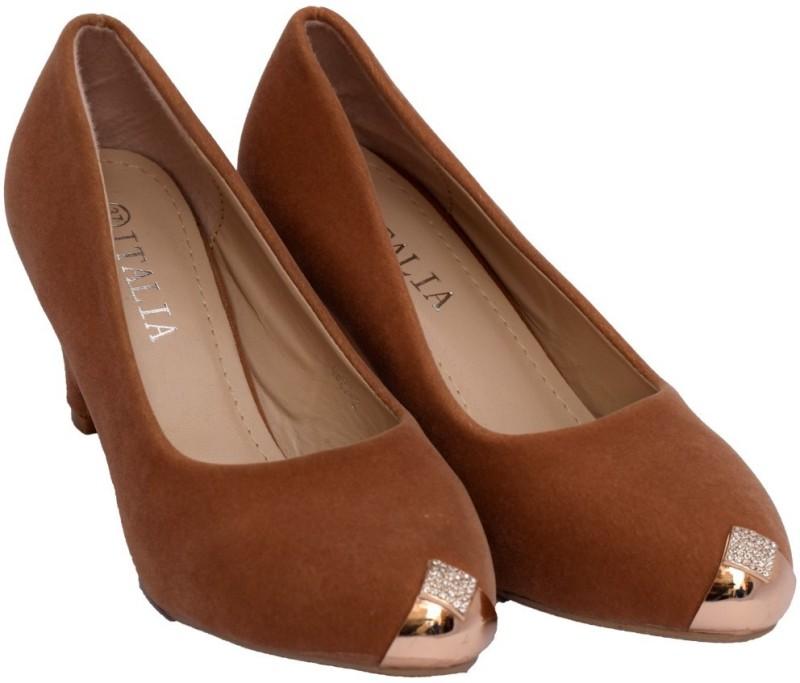 SuperStar Brand Women Khaki Heels