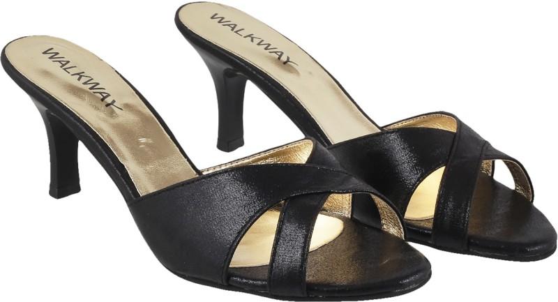 Walkway Women 11 Black Heels
