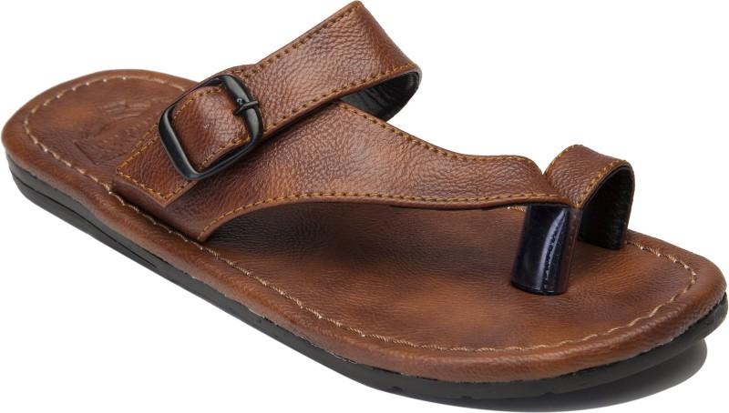 Guardian Shoes Side line style Men Tan Sandals