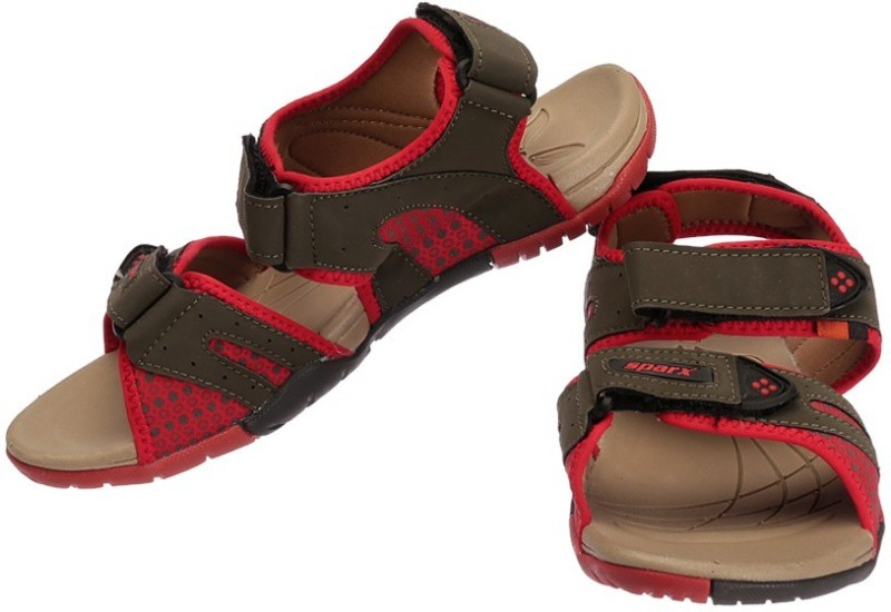 Sparx Women OliveRed Sports Sandals
