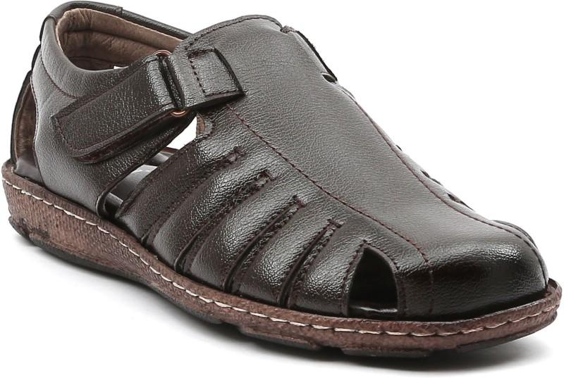 Ajanta Men Black::Brown Clogs