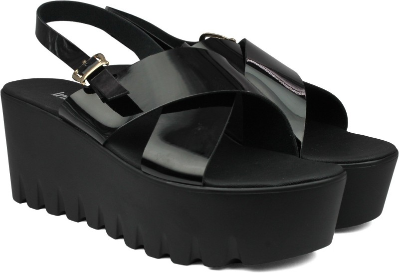 Inc.5 Women BLACK Wedges