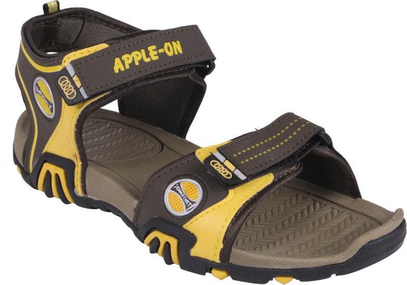 APPLE-ON Men BROWN Sandals