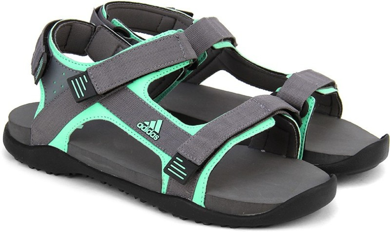 Adidas Women VISGREICEGRNBLACK Sports Sandals