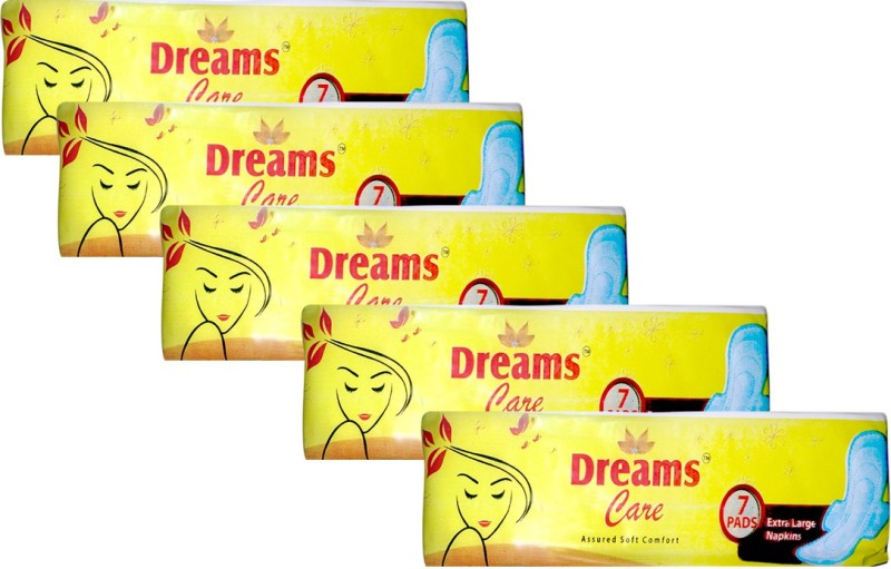 Dreams Care ST_XL_35 Sanitary Pad(Pack of 5)