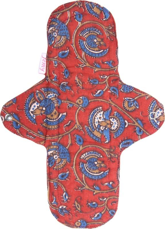 Femy Washable & Reusable Cloth Pad-Kalamkari Red Sanitary Pad
