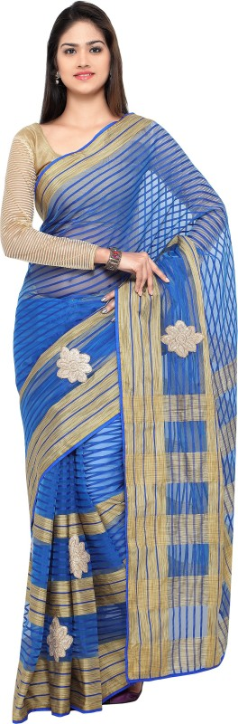 sarvagny clothing Self Design Bollywood Kota Cotton, Silk Cotton Blend Saree(Multicolor)