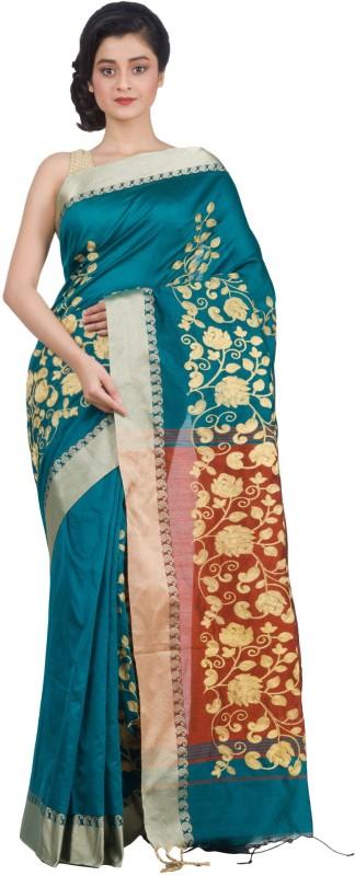 RLBFashion Self Design Fashion Handloom Art Silk Saree(Multicolor)