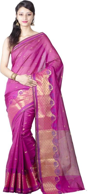 Chandrakala Printed Banarasi Silk Saree(Pink)