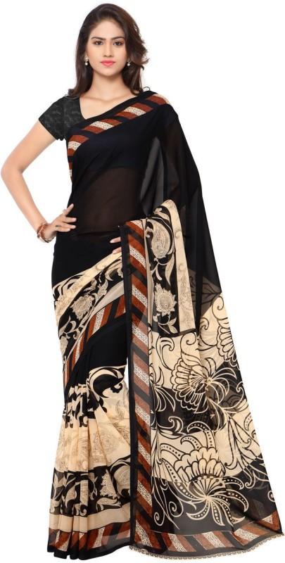 Kashvi Sarees Printed Daily Wear Georgette Saree(Multicolor)